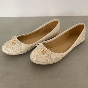 Tory Burch Chelsea Stitched Ballet Flat